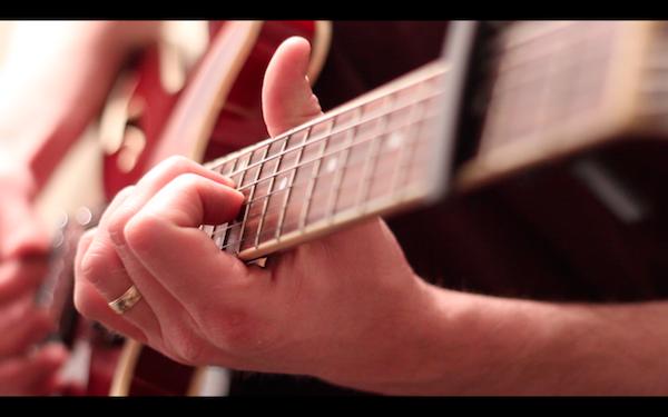 Bill Van Loo - tracking guitar rough ideas
